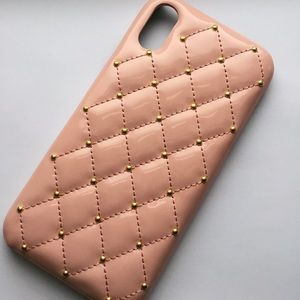 Hard Leather iPhone XR Case